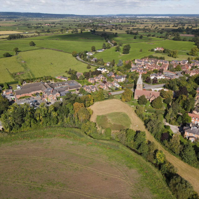 Pulford from above