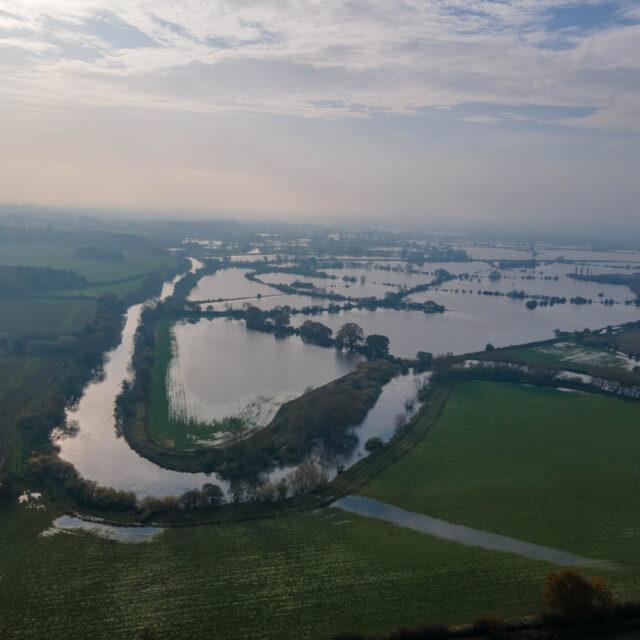 River Dee Flood near Aldford